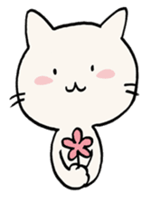India ink cat sticker #723414