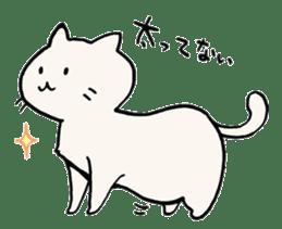 India ink cat sticker #723418