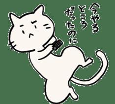 India ink cat sticker #723421