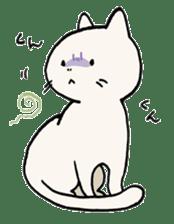 India ink cat sticker #723422