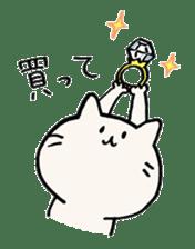 India ink cat sticker #723432