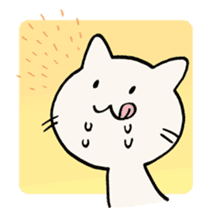 India ink cat sticker #723435