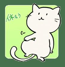 India ink cat sticker #723437