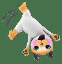 Yasaneko the perverse cats Taroimo Ver. sticker #724085