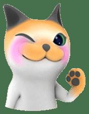 Yasaneko the perverse cats Taroimo Ver. sticker #724086