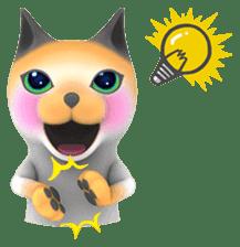 Yasaneko the perverse cats Taroimo Ver. sticker #724087