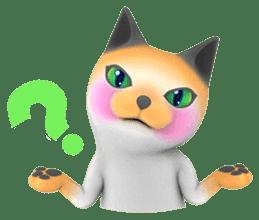 Yasaneko the perverse cats Taroimo Ver. sticker #724088
