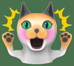 Yasaneko the perverse cats Taroimo Ver. sticker #724089