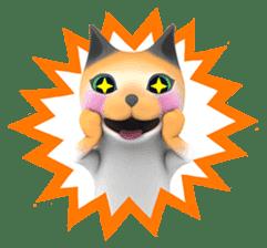 Yasaneko the perverse cats Taroimo Ver. sticker #724092