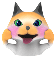 Yasaneko the perverse cats Taroimo Ver. sticker #724094