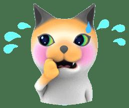 Yasaneko the perverse cats Taroimo Ver. sticker #724096