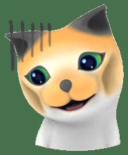 Yasaneko the perverse cats Taroimo Ver. sticker #724099