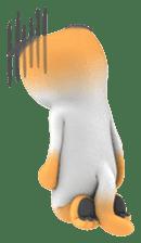Yasaneko the perverse cats Taroimo Ver. sticker #724100