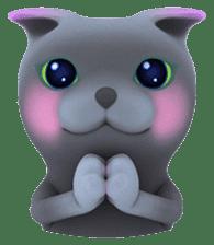 Yasaneko the perverse cats Taroimo Ver. sticker #724103