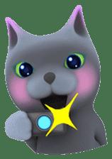 Yasaneko the perverse cats Taroimo Ver. sticker #724105
