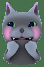 Yasaneko the perverse cats Taroimo Ver. sticker #724108