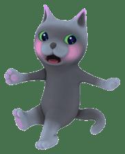 Yasaneko the perverse cats Taroimo Ver. sticker #724109