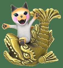 Yasaneko the perverse cats Taroimo Ver. sticker #724118