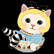 สติ๊กเกอร์ไลน์ Choo Choo Cats: Sweet Dreams Edition