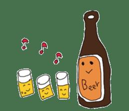 BEER MAN sticker #726232
