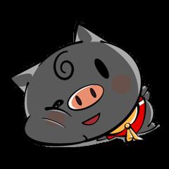 Sue of black piglet