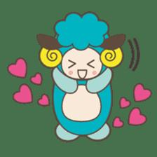 """LOVELY ANIMALS """"CONVERSATION"""" sticker #727524"""