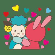 """LOVELY ANIMALS """"CONVERSATION"""" sticker #727536"""