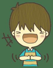 Happy day's Daizu sticker #728909