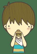 Happy day's Daizu sticker #728925