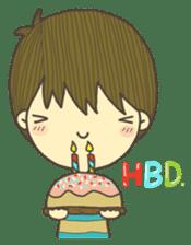 Happy day's Daizu sticker #728932