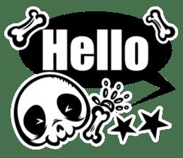 HONEBITO & HONEKAGE-English- sticker #731505