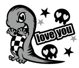HONEBITO & HONEKAGE-English- sticker #731539