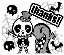 HONEBITO & HONEKAGE-English- sticker #731542