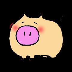 Miniature pig's.