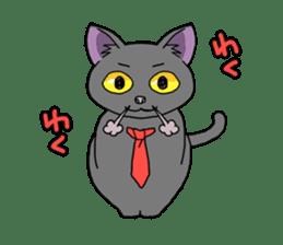 Snazzy cat Noah sticker #733029