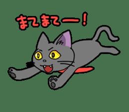 Snazzy cat Noah sticker #733030