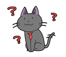 Snazzy cat Noah sticker #733047