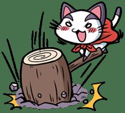 Super Cat sticker #733384