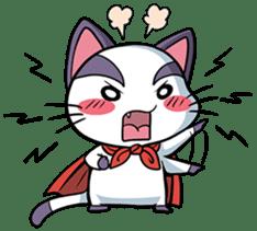 Super Cat sticker #733386