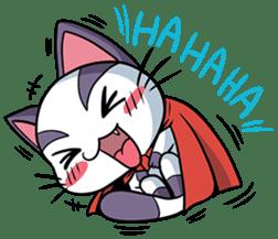 Super Cat sticker #733387