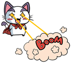 Super Cat sticker #733388
