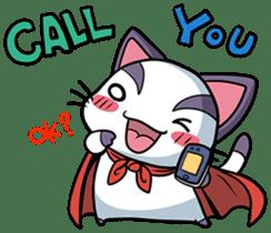 Super Cat sticker #733411