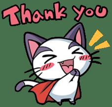 Super Cat sticker #733413