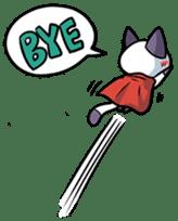 Super Cat sticker #733416