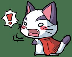 Super Cat sticker #733417