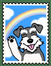 Daily life of Miniature Schnauzer sticker #733497