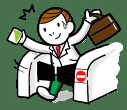 Mr.Businessman sticker #733623