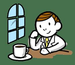 Mr.Businessman sticker #733635