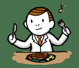 Mr.Businessman sticker #733636