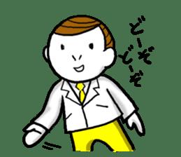 Mr.Businessman sticker #733648